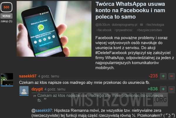 WhatsApp –