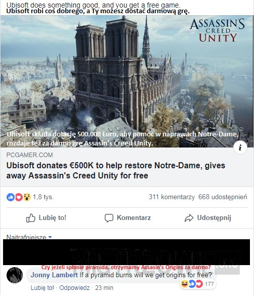 Notre Dame by Ubisoft