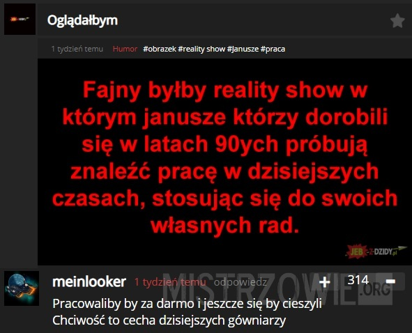Reality show –