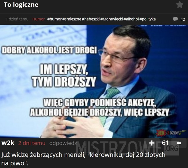 To logiczne –
