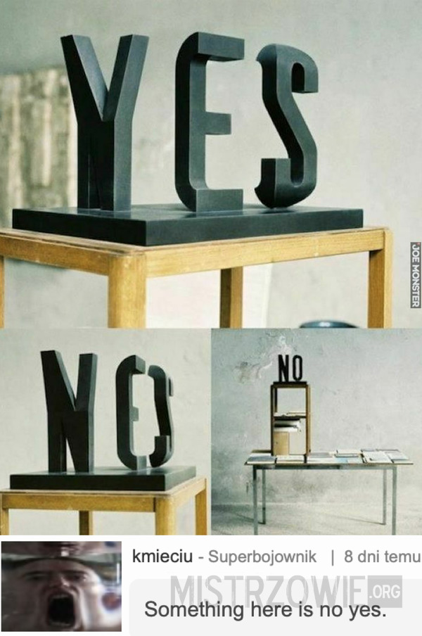 Yes or no –