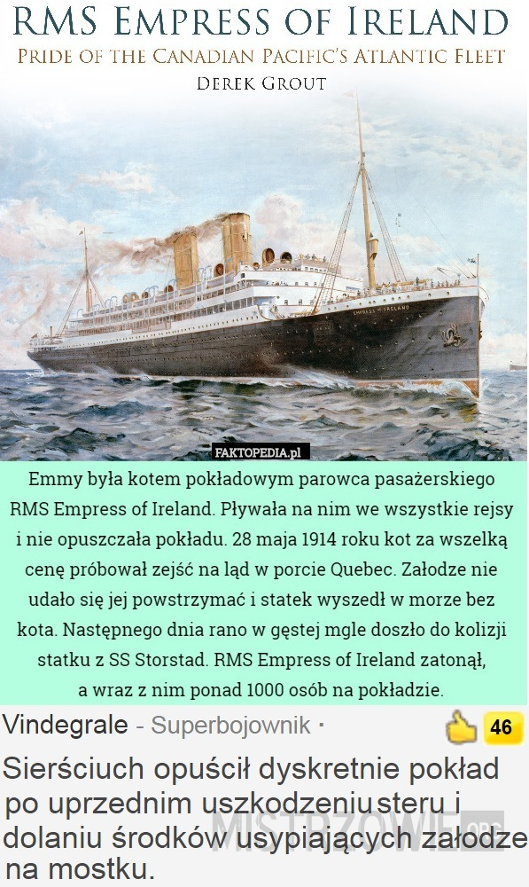 Empress of Ireland –